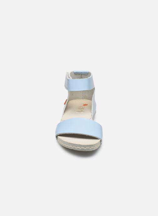 Sandales et nu-pieds Art Paddle A276 Bleu vue portées chaussures