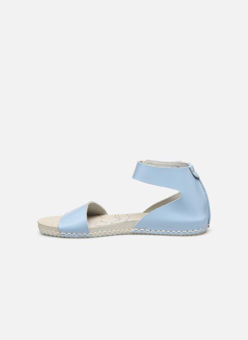 Sandales et nu-pieds Art Paddle A276 Bleu vue face