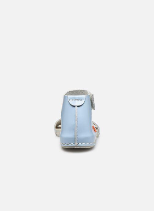 Sandales et nu-pieds Art Paddle A276 Bleu vue droite