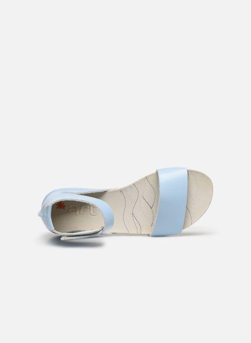 Sandales et nu-pieds Art Paddle A276 Bleu vue gauche