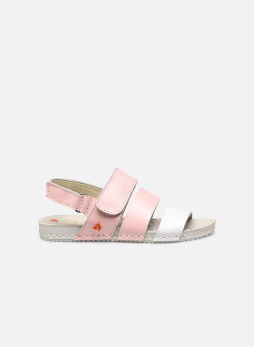 Sandales et nu-pieds Art Paddle A285 Rose vue derrière