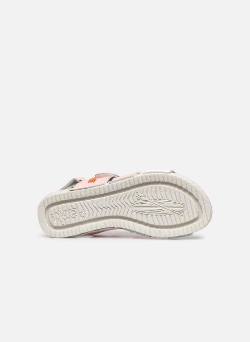 Sandales et nu-pieds Art Paddle A285 Rose vue haut