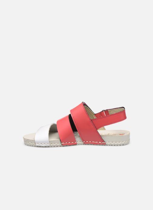 Sandales et nu-pieds Art Paddle A285 Rose vue face