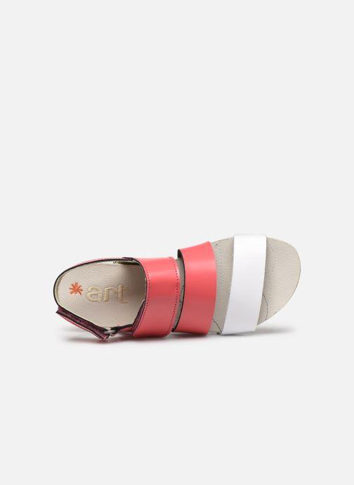 Sandales et nu-pieds Art Paddle A285 Rose vue gauche