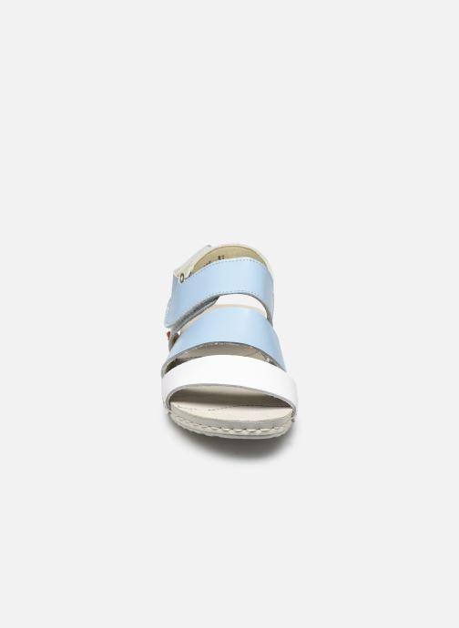 Sandales et nu-pieds Art Paddle A285 Bleu vue portées chaussures