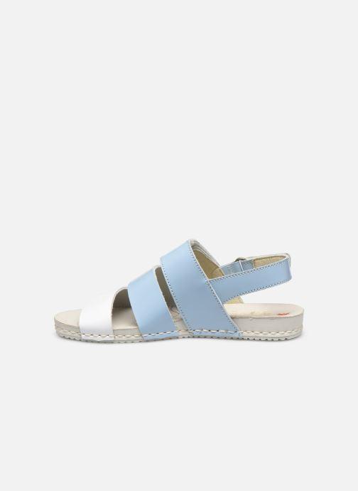 Sandales et nu-pieds Art Paddle A285 Bleu vue face