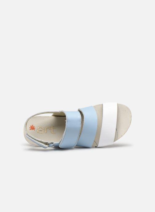 Sandales et nu-pieds Art Paddle A285 Bleu vue gauche