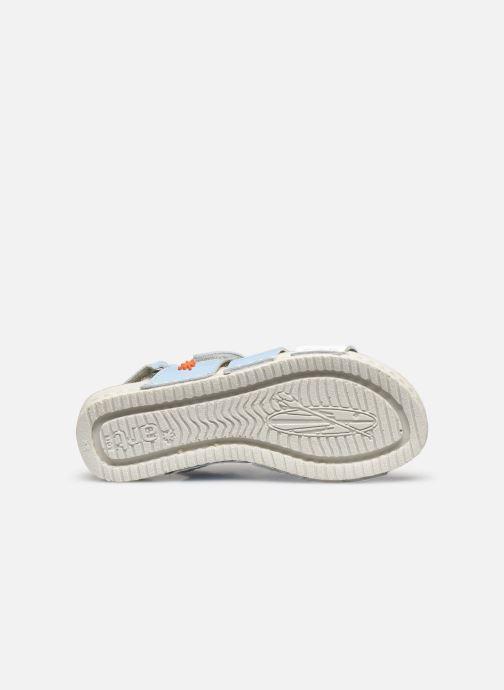 Sandales et nu-pieds Art Paddle A285 Bleu vue haut