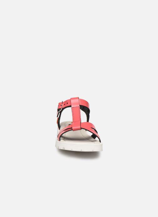 Sandales et nu-pieds Art Merida A332 Rose vue portées chaussures