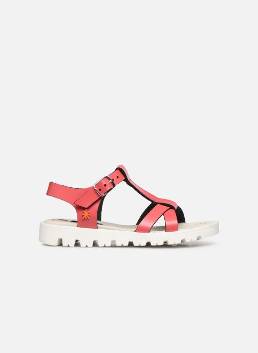 Sandales et nu-pieds Art Merida A332 Rose vue derrière