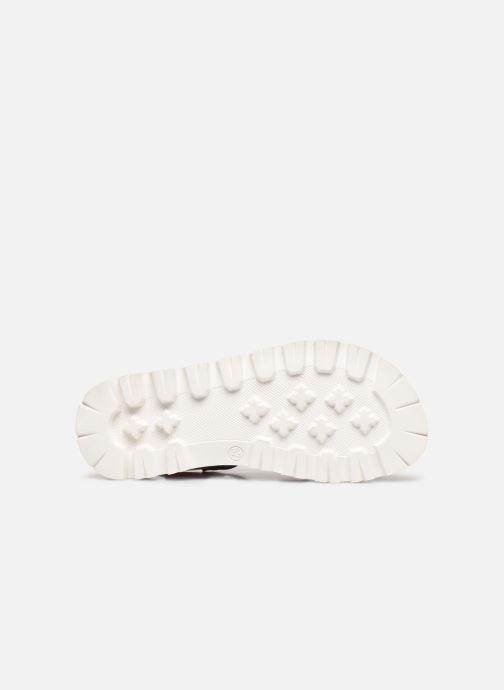 Sandales et nu-pieds Art Merida A332 Rose vue haut