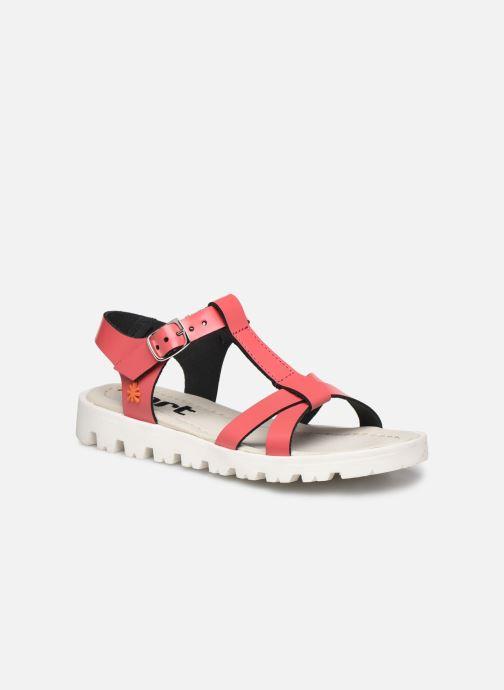 Sandales et nu-pieds Art Merida A332 Rose vue détail/paire