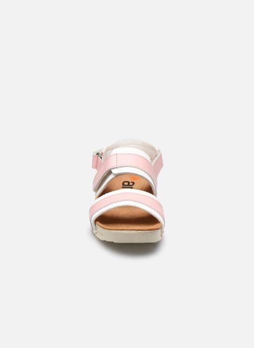 Sandales et nu-pieds Art I play A443 Rose vue portées chaussures