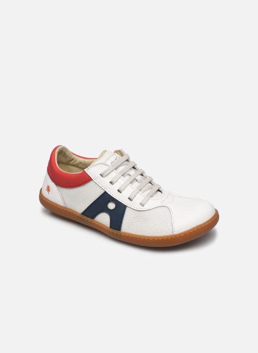 Sneakers Art Kio A707S Wit detail