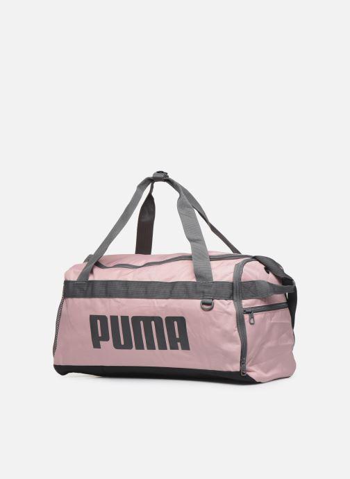 Borsa da palestra Puma Chal Duffel Bag S Rosa modello indossato