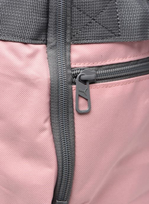 Borsa da palestra Puma Chal Duffel Bag S Rosa immagine sinistra