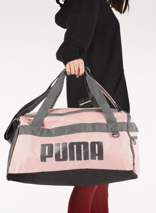 Sporttaschen Puma Chal Duffel Bag S rosa ansicht von unten / tasche getragen