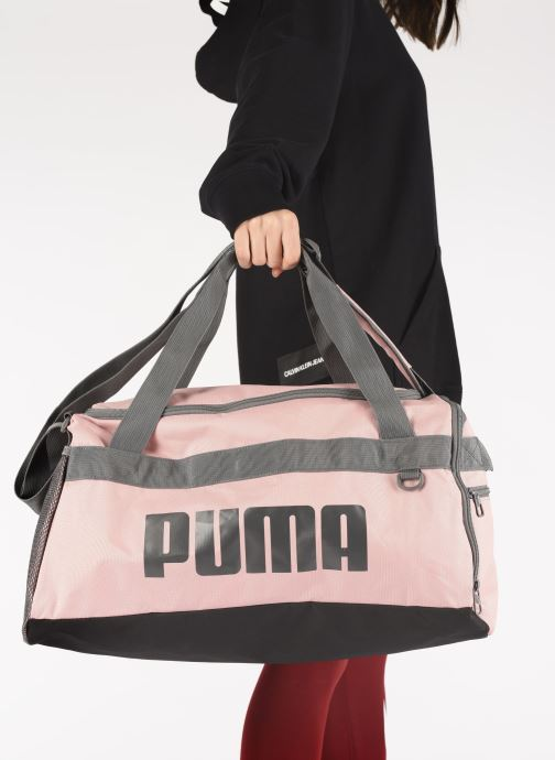 Sacs de sport Puma Chal Duffel Bag S Rose vue bas / vue portée sac