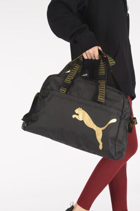 Sacs à main Puma At Ess Grip Bag Noir vue bas / vue portée sac