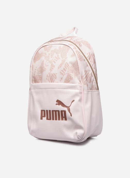 Mochilas Puma Wmn Core Up Bp Rosa vista del modelo