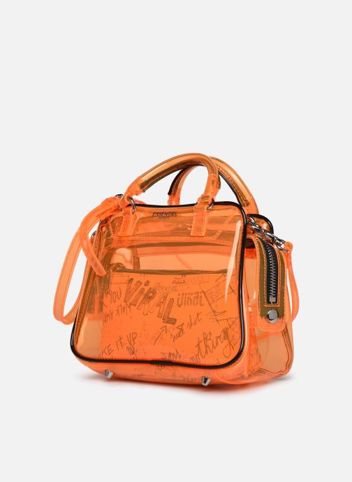 Sacs à main Essentiel Antwerp Vilietta Orange vue portées chaussures
