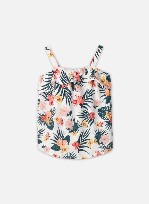 Vêtements Name it Nkfvinaya Flounce Strap Top F Blanc vue détail/paire