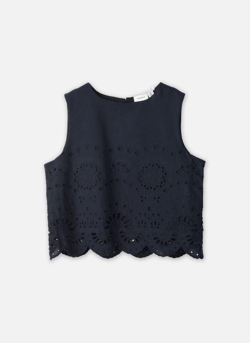 Vêtements Name it Nkffelicity Short Top Bleu vue détail/paire