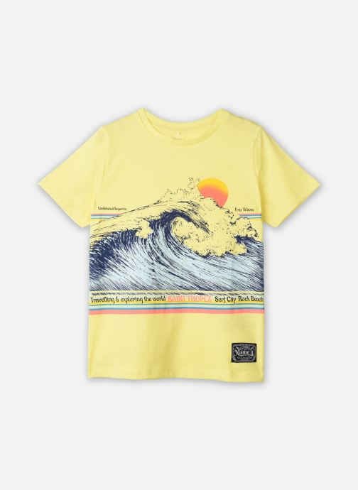Vêtements Name it Nkmfagiolo Ss Top Jaune vue détail/paire