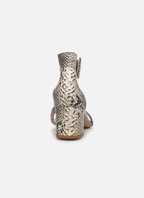 Sandales et nu-pieds Essentiel Antwerp Vodd Multicolore vue droite