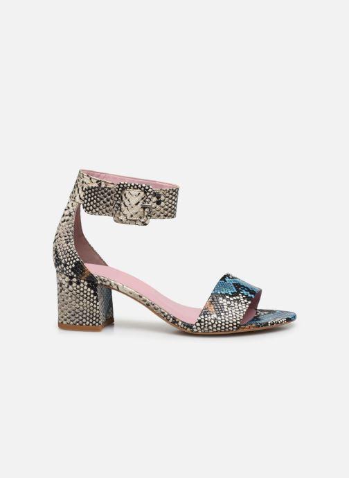 Sandales et nu-pieds Essentiel Antwerp Vodd Multicolore vue derrière
