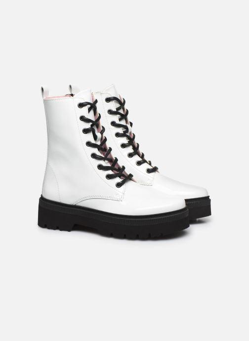 Boots en enkellaarsjes Essentiel Antwerp Vusy Wit 3/4'