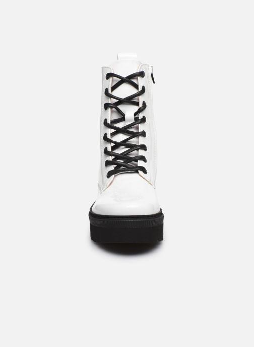 Bottines et boots Essentiel Antwerp Vusy Blanc vue portées chaussures