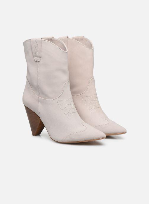 Bottines et boots Essentiel Antwerp Vilnas Blanc vue 3/4