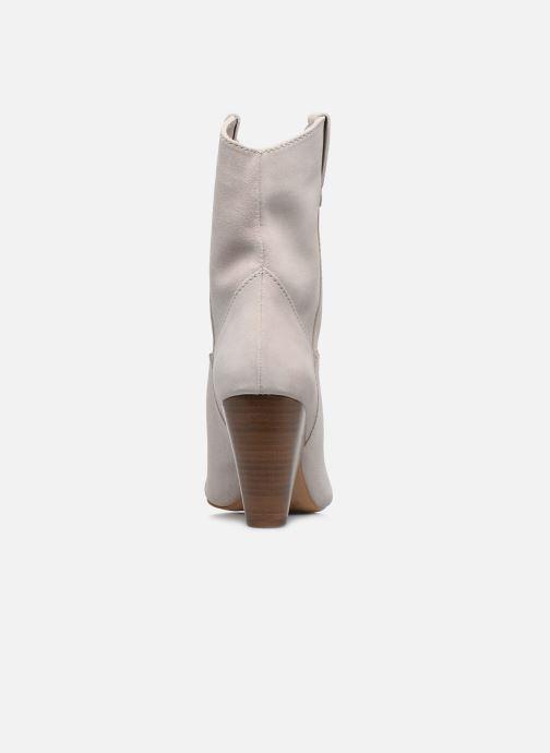 Bottines et boots Essentiel Antwerp Vilnas Blanc vue droite