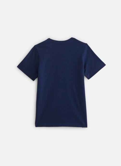 Vêtements G-Star Tee-shirt imprimé - Imperial Blue Bleu vue bas / vue portée sac