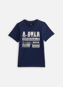 Kleding Accessoires Tee-shirt imprimé - Imperial Blue