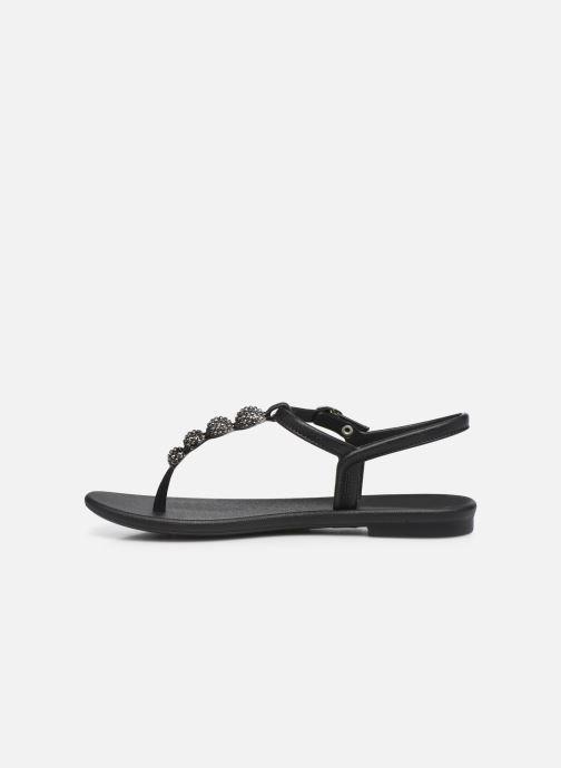 Sandalias Grendha Grendha Cacau Sandal Fem Negro vista de frente