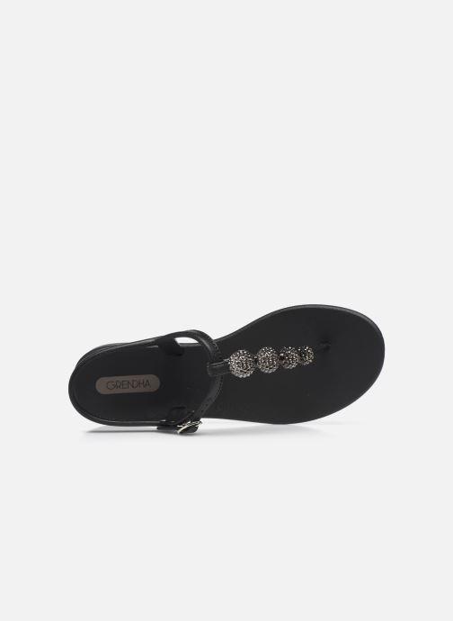 Sandalias Grendha Grendha Cacau Sandal Fem Negro vista lateral izquierda