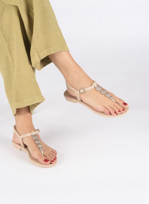 Sandalias Grendha Grendha Cacau Sandal Fem Beige vista de abajo