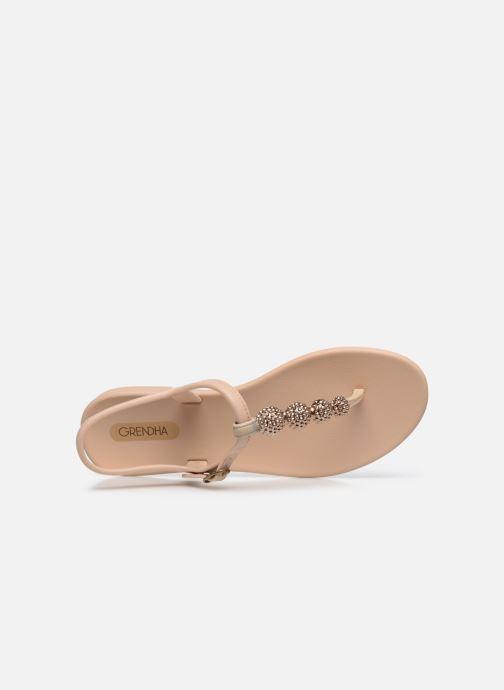 Sandalias Grendha Grendha Cacau Sandal Fem Beige vista lateral izquierda