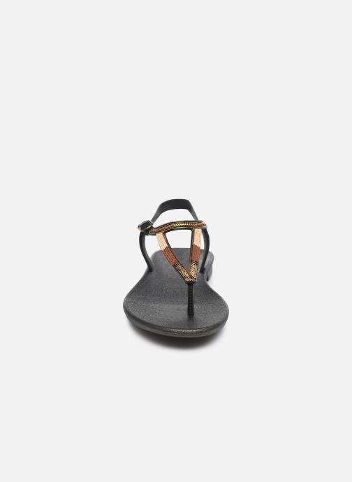 Sandalias Grendha Grendha Cacau Rustic Sandal Fem Negro vista del modelo