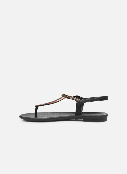 Sandalias Grendha Grendha Cacau Rustic Sandal Fem Negro vista de frente