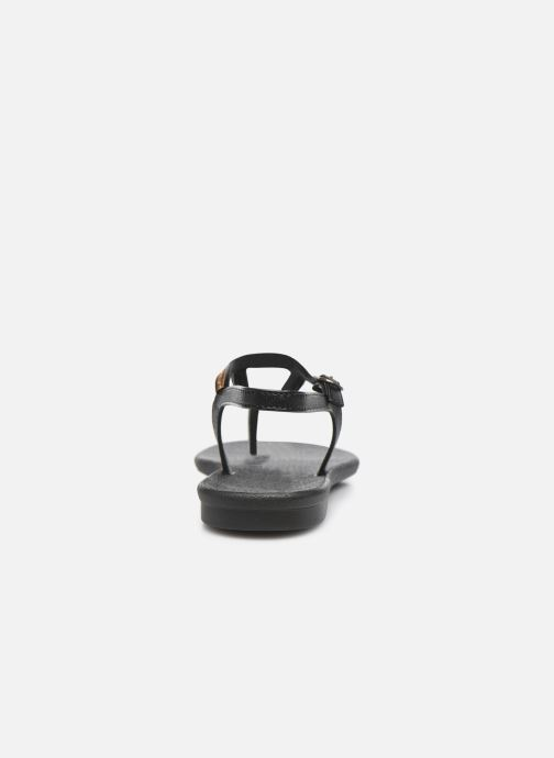 Sandalias Grendha Grendha Cacau Rustic Sandal Fem Negro vista lateral derecha