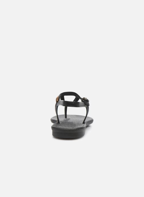 Sandales et nu-pieds Grendha Grendha Cacau Rustic Sandal Fem Noir vue droite