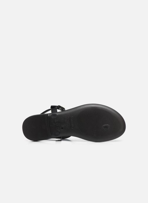 Sandalias Grendha Grendha Cacau Rustic Sandal Fem Negro vista de arriba