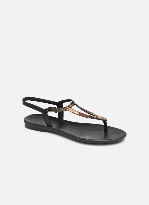 Sandalias Grendha Grendha Cacau Rustic Sandal Fem Negro vista de detalle / par