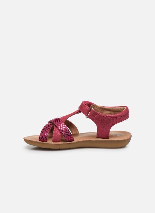 Sandalen Aster Tahissa rosa ansicht von vorne