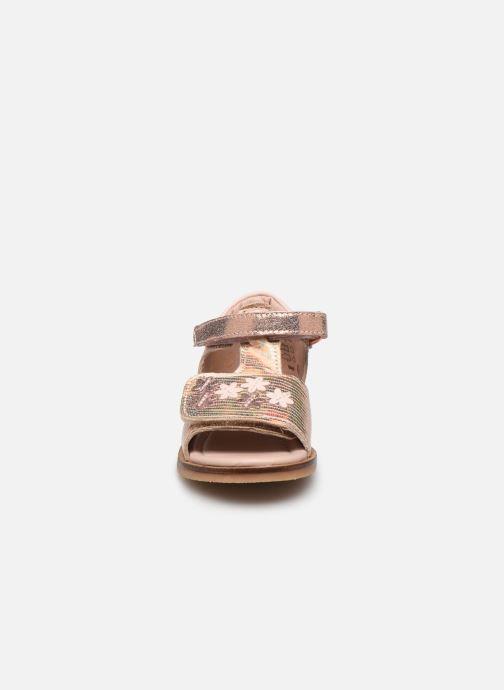 Sandales et nu-pieds Aster Norald Rose vue portées chaussures