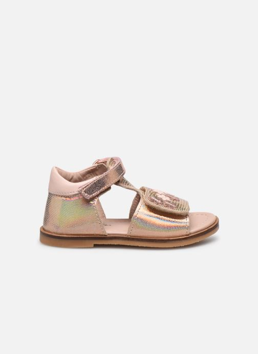 Sandales et nu-pieds Aster Norald Rose vue derrière