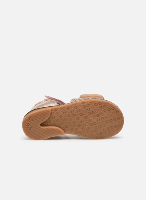 Sandales et nu-pieds Aster Norald Rose vue haut